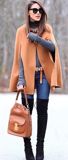 Love all but the bag.  The cloak's unique details add the right amount of edge