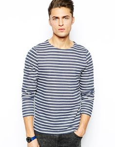 ASOS+Stripe+Long+Sleeve+T-Shirt