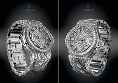 When it comes to white gold and diamonds