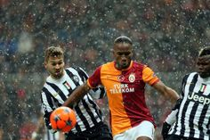 Fernando Llorente (Juventus), Didier Drogba (Galatasaray) and Paul Pogba (Juventus).