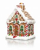 Creative Home Gingerbread House Cookie Jar
