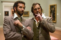 American Hustle - Three Golden Globes and Four and a Half Stars  Photo © 2013 CTMG