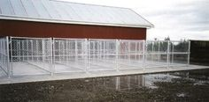 dog kennel to build | We can design and build your kennel complex from 1 to 100 dogs.