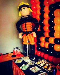 Shane's Naruto birthday