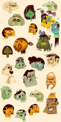 Lennard Schuurmans » Blog Archive » Character design