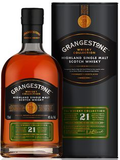 Grangestone 21 Year Old Single Malt Scotch- Buy Grangestone Whisky.  This is the scotch I've been drinking and I like it very much!