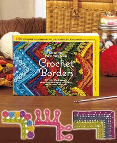 The Crochet Borders Project Book finishes off any kind of craft with a fun dose of flair. Inside this book are 150 border designs with detailed instructions for you to embellish a scarf, blanket or even a store bought top with the perfect crocheted borde