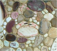 Mosaic Art and ceramic tiles by Gabrielle Dudley, The Red Cow Gallery -