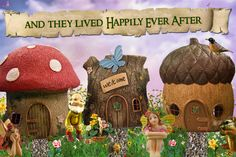Enchanted gardens website - sells items for fairy gardens - great inspiration for DIY projects or just buy something