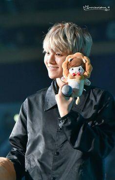 151212 The EXO'luXion in Nanjing (cr. Baekhyun, Baekyeol, Chanbaek, K Pop, Baby Puppies, Cute Puppies, Asian Boy Band, Exo Luxion, Kim Minseok