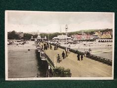 Antique Postcard - The Pier, Bournemouth