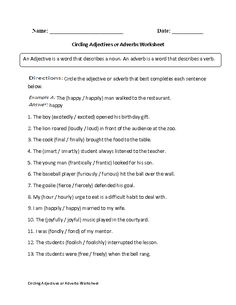 Englishlinx.com | Adjectives Worksheets