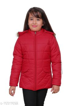 Jackets & Coats StreetLine Red Stylish Kids Girls Jacket Fabric: Nylon Sleeve Length: Long Sleeves Pattern: Solid Multipack: 1 Sizes:  4-5 Years (Length Size: 20 in Waist Size: 13 in Hip Size: 15 in)  5-6 Years (Length Size: 21 in Waist Size: 14 in Hip Size: 16 in)  10-11 Years (Length Size: 25 in Waist Size: 18 in Hip Size: 20 in)  3-4 Years (Length Size: 19 in Waist Size: 12 in Hip Size: 14 in)  8-9 Years (Length Size: 23 in Waist Size: 16 in Hip Size: 18 in)  7-8 Years (Length Size: 22 in Waist Size: 15 in Hip Size: 17 in)  9-10 Years (Length Size: 24 in Waist Size: 17 in Hip Size: 19 in)  Country of Origin: India Sizes Available: 3-4 Years, 4-5 Years, 5-6 Years, 6-7 Years, 7-8 Years, 8-9 Years, 9-10 Years, 10-11 Years *Proof of Safe Delivery! Click to know on Safety Standards of Delivery Partners- https://ltl.sh/y_nZrAV3  Catalog Rating: ★4.3 (406)  Catalog Name: Modern Stylus Girls Jackets & Coats CatalogID_1872424 C62-SC1153 Code: 547-10311692-