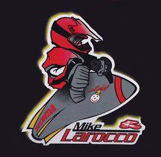 "Mike ""LaRocket"" LaRocco by @renthal_moto 1998. #JackInTheBox #Motocross #Supercross #90sMoto"