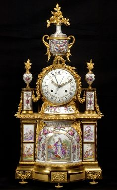 A Louis XVI mantel clock, the dial by Joseph Coteau