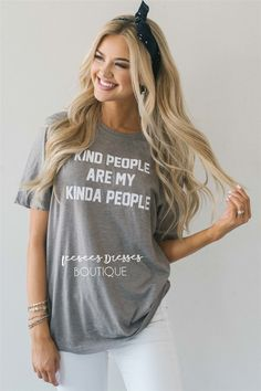 Kind People Are My Kinda People Graphic Tee Church Dresses, Modest Dresses, Modest Outfits, Long Dresses, Bridesmaid Dresses With Sleeves, Bridesmaids, Girly Outfits, Cute Outfits, Divas