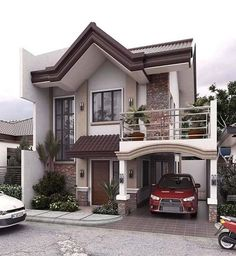 Modern house exterior design reflects the entire style of the space and the tradition as well