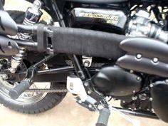 exhaust wrap triumph scrambler - Google Search