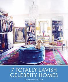 7 Totally Lavish Celebrity Homes