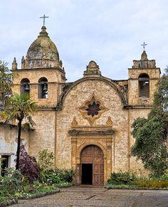 Mission San Carlos Borroméo del Río Carmelo, also known as the Carmel Mission, Monterey, California