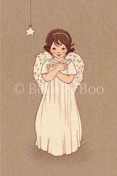 Little Angel by belleandboo on Etsy, £20.00