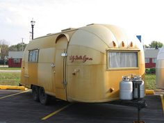Wally Byam gold Airstream