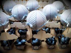 Centros de mesa / souvenir globo aerostático