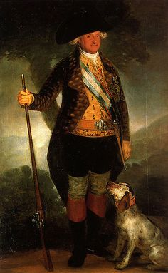 Charles IV in Hunting Dress, 1799, by Francisco de Goya (1746-1828)