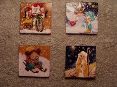 small christmas paints Adriana Mihoc Dragus