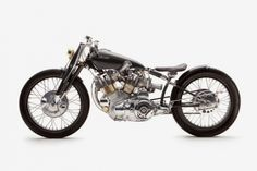 Black Falcon, from Falcon Motorcycles, takes a VIncent Black Shadow (one of the most iconic motorcycles ever built) and brings it to another level.