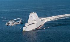 USS Zumwalt Underway