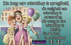 Die krag van vriendskap .......