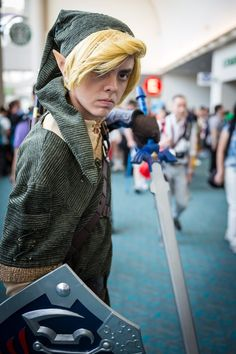 Link Cosplay - #SDCC San Diego Comic Con 2014
