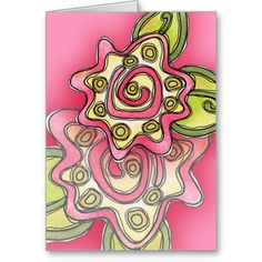 Spring Flower - Greeting Card