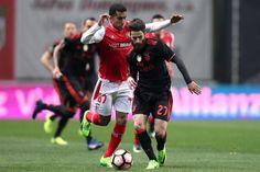 O Benfica venceu, este domingo à noite, o Sporting de Braga por 1-0, no Municipal de Braga.
