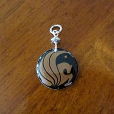 University of Central Florida Knights Mascot Head Pendant in Sterling Silver