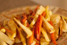 Roasted Parsnips and