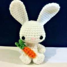 To celebrate Easter, amigurumi-style, you can crochet up this little guy with my. : To celebrate Easter, amigurumi-style, you can crochet up this little guy with my free Easter Bunny pattern. Easter Bunny Crochet Pattern, Crochet Amigurumi Free Patterns, Free Crochet, Crochet Rabbit Free Pattern, Amigurumi Tutorial, Easy Crochet, Diy Crafts Crochet, Crochet Gifts, Crochet Projects