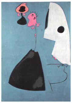 Three gifts - Joan Miro 1935