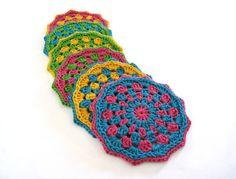 Reservados para MSV Crochet posavasos por GiadaCortellini en Etsy