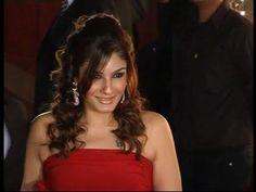 Raveena Tandon hot in red at Karan Johar's birthday party.