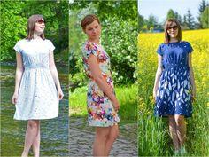 Sommerkleid Federleicht Gr. 32 bis 46 in 3 Längen - Schnittmuster und Anleitung - Nähanleitungen bei Makerist