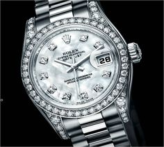 diamond rolex | Diamonds are a Girl's Best Friend | Fashion in Motion