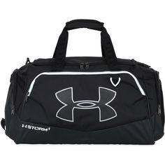 Under Armour Men 60l Storm Gym Duffle Bag 100 Cad Liked On Polyvore Featuring S Fashion Bags Black Mens Duffel Bagens