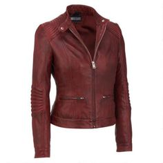 Black Rivet Stitch Shoulder Leather Jacket w/Nipped Waist $279.99                      Our Price Now:                                           $600.00                      Comp Value Was: