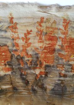 wool/silk/viscous fabric w/eucalyptus -Cherie Livni