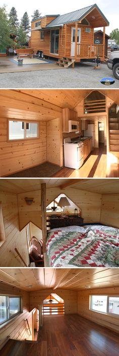 North Carolina Loft tiny house