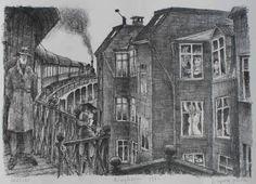 Ib Spang Olsen - black and white drawing