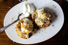 grilled peach splits by smitten, via Flickr