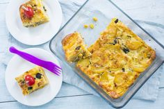Hmmm, een aardappeltortilla met courgette! Ideaal om mee te nemen naar de picknick! Bekijk het recept in mijn nieuwe blog! #spon #hallojumbo